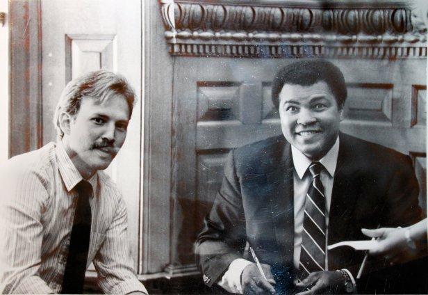 Bill and Ali 1986