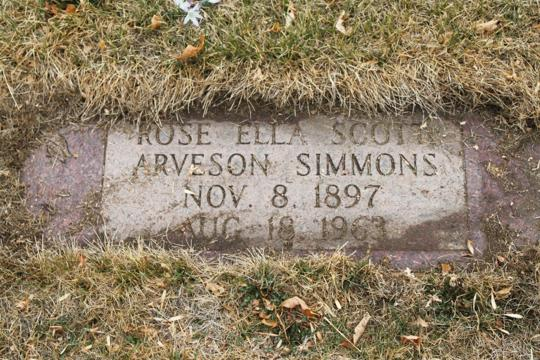 Arveson grave